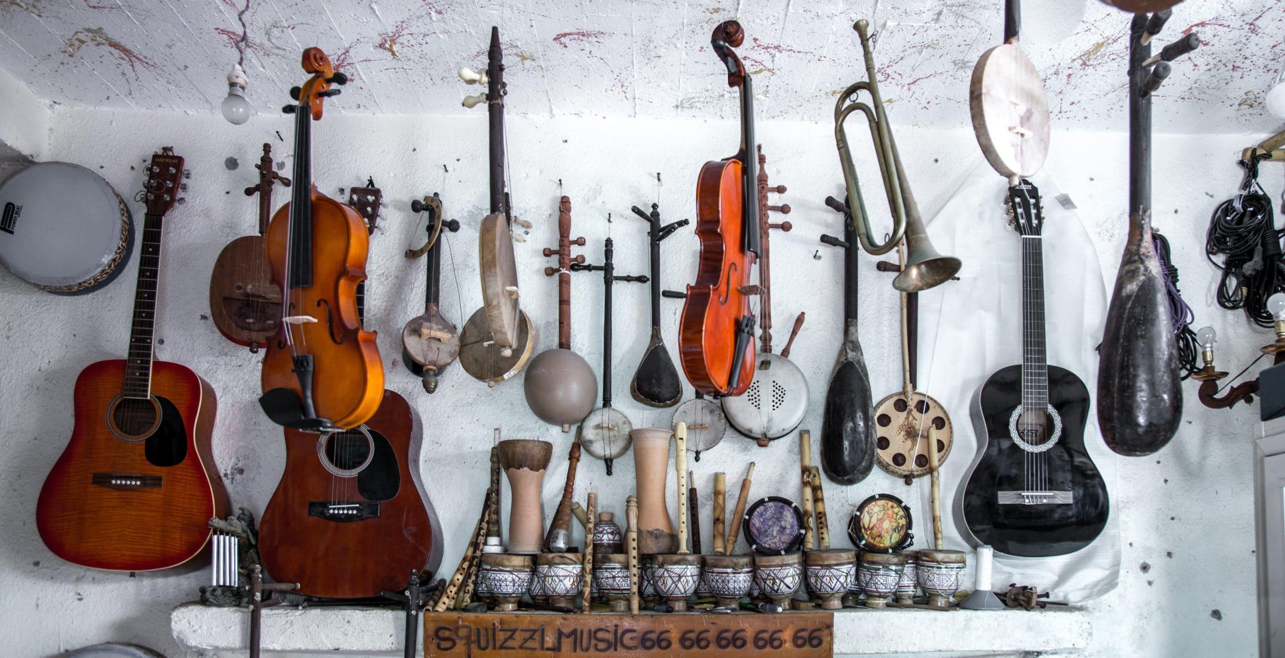 Cours d'instrument pour les enfants